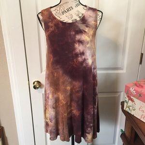 Wishlist sleeveless swing dress Sz M